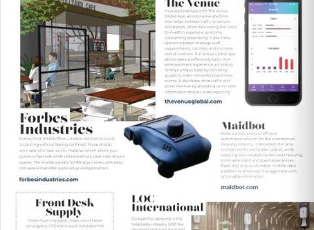 The Venue Global App - Featured In Hotelier Magazine