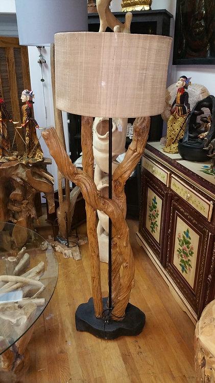 Liana Wood Floor Lamp
