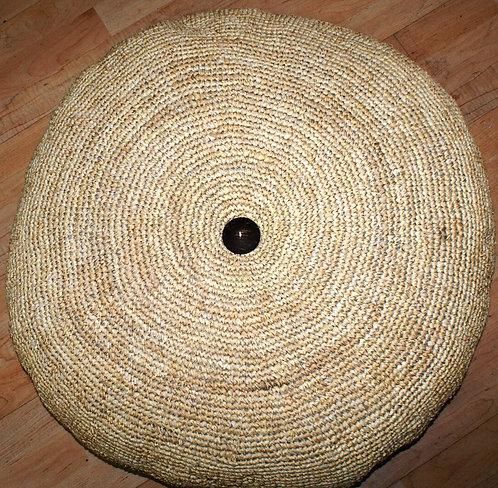 Round Pillow Raffia