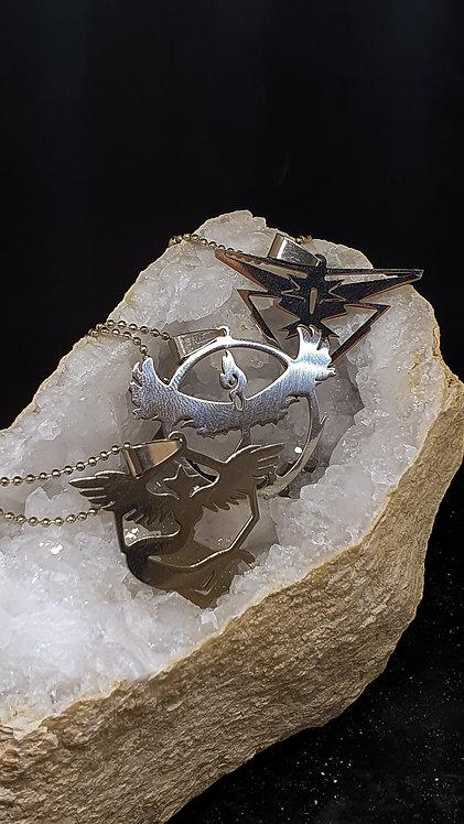 Pokemon legendary trio smykker