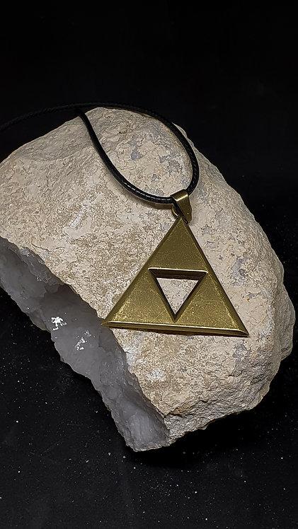 The Triforce i gullfarge