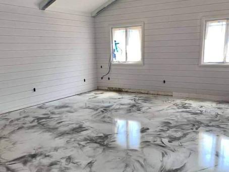 Epoxy Metallic Flooring