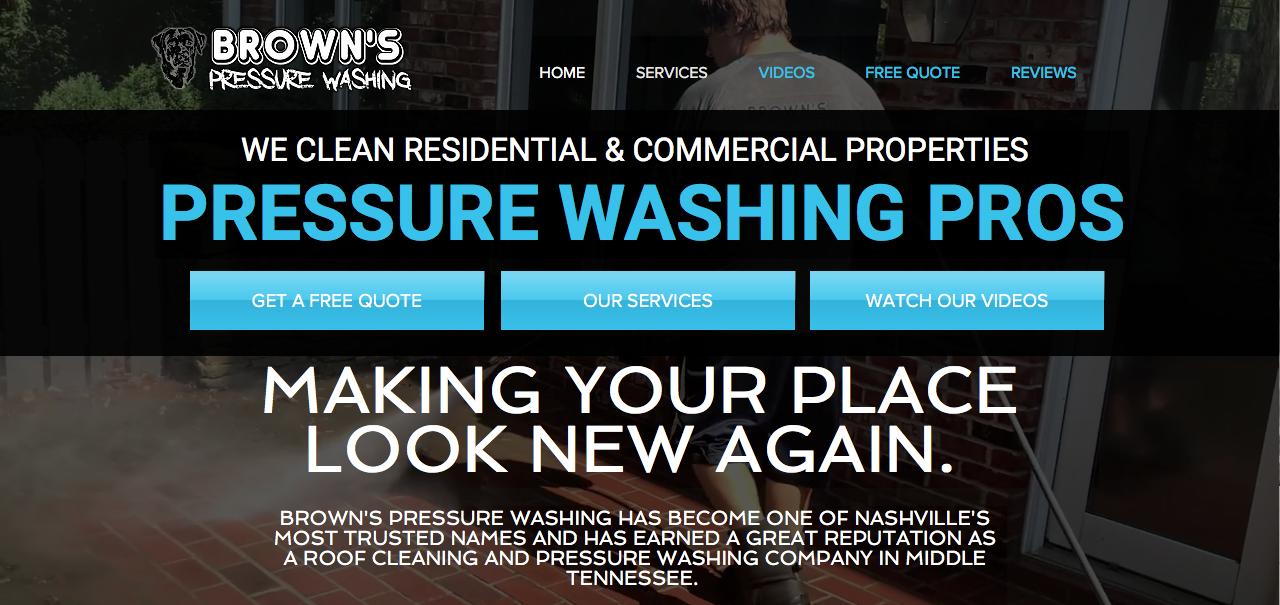 Pressure Washing Nashville, TN
