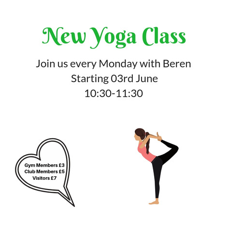 New Yoga Class
