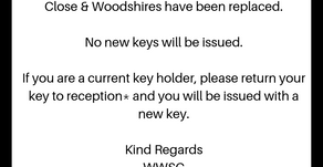 Gate Keys - Please Read