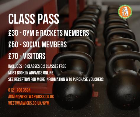 Buy a Class Pass!