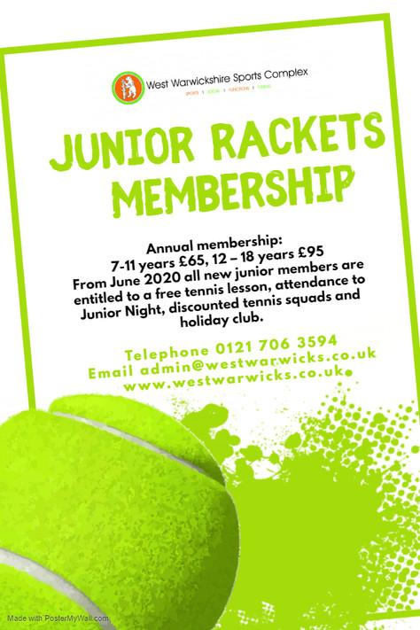Junior Memberships