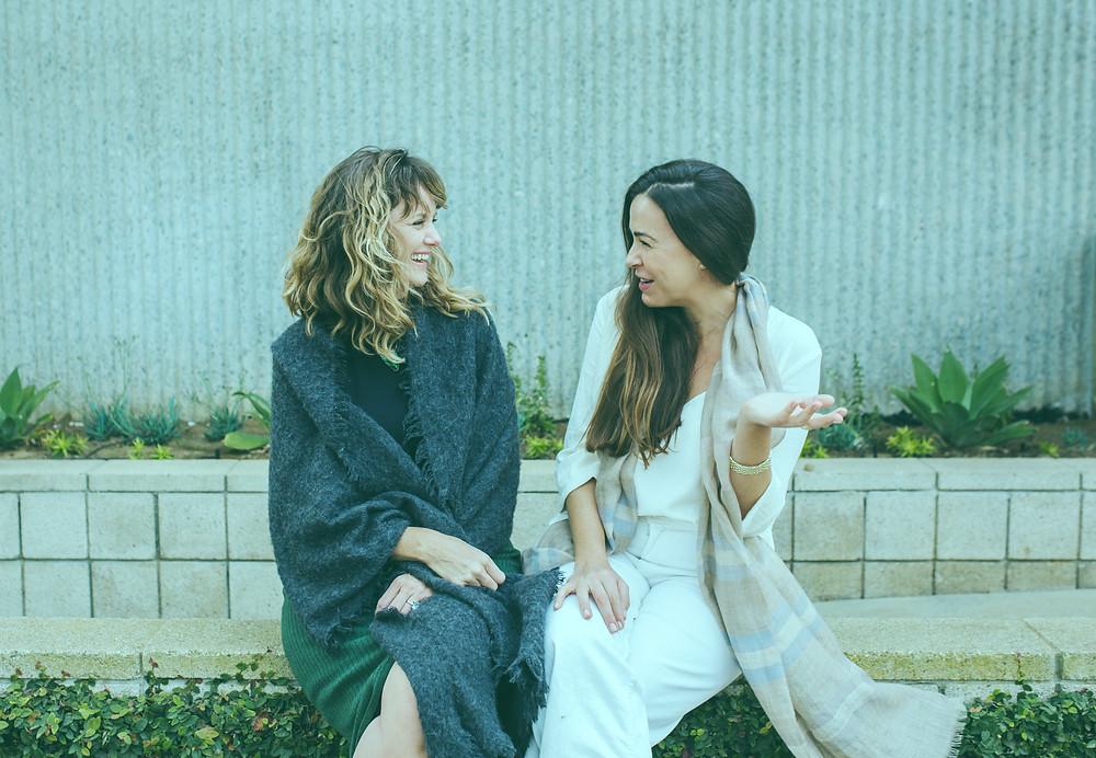 Annie Robershaw and Jenessa Goodman
