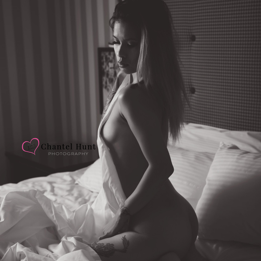Boudoir is so different than porn...  You can be sexy without nudity.