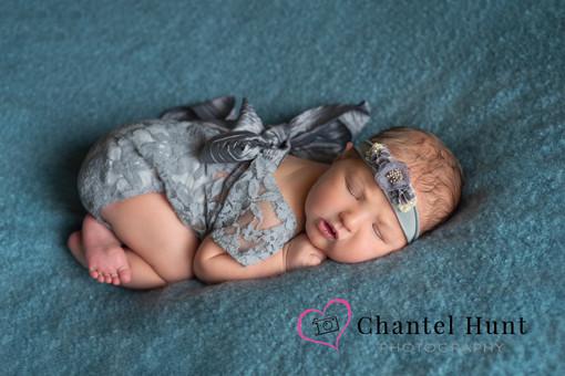 newborn girl in gray yuba city-marysville-liveoak