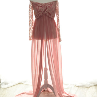 pink lace top long sleep open front.jpg