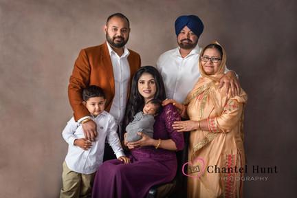 Live Oak newborn and family photo session