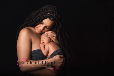 newborn baby and mom plumas lake