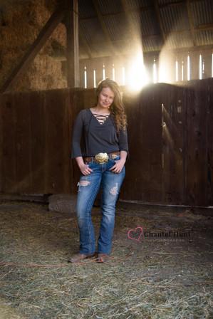 Light leak through barn wood