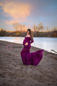 Feather River Maternity Session Yuba Cit