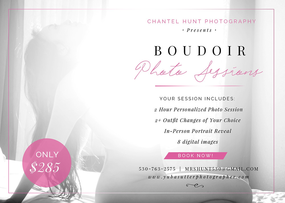 Boudoir Photographer Yuba City
