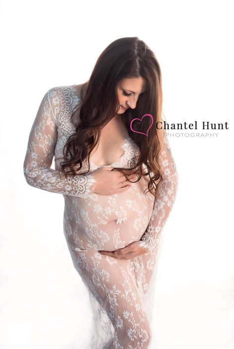 indoor maternity yuba city chantel hunt photography