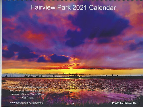 2021 Fairview Park Calendar