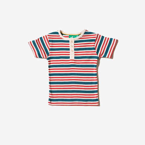 Nautical Rib Short Sleeve Everyday Tee