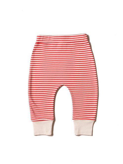 Red Striped Wriggle Pant