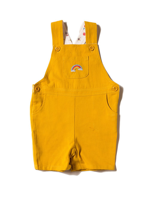Over the Rainbow Classic Shortie Dungarees