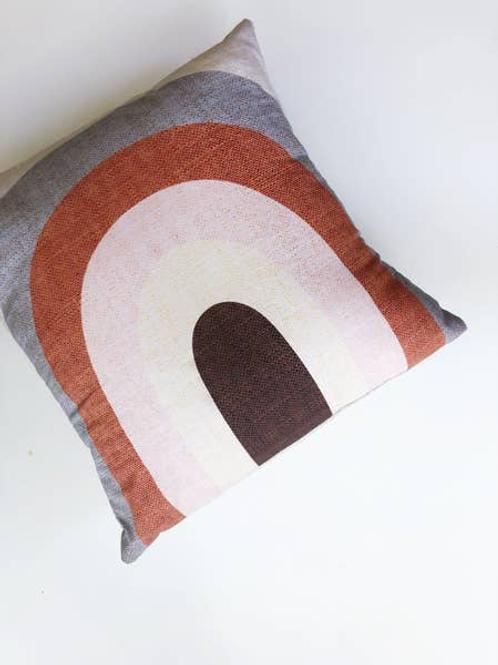 Handmade Rainbow Pillow Cover