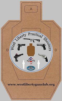 WLPS Logo USPSA Target - final - grey -