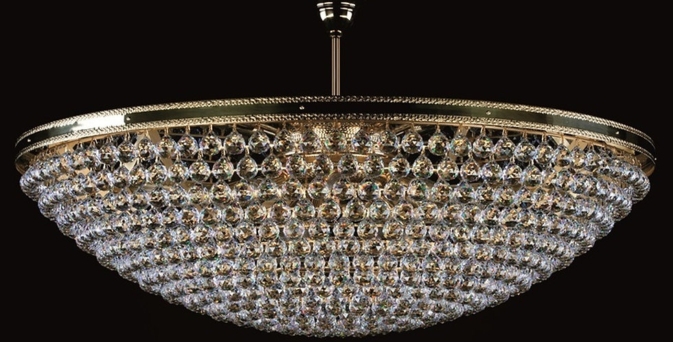 Leila, kurvlampe, diameter 1 meter