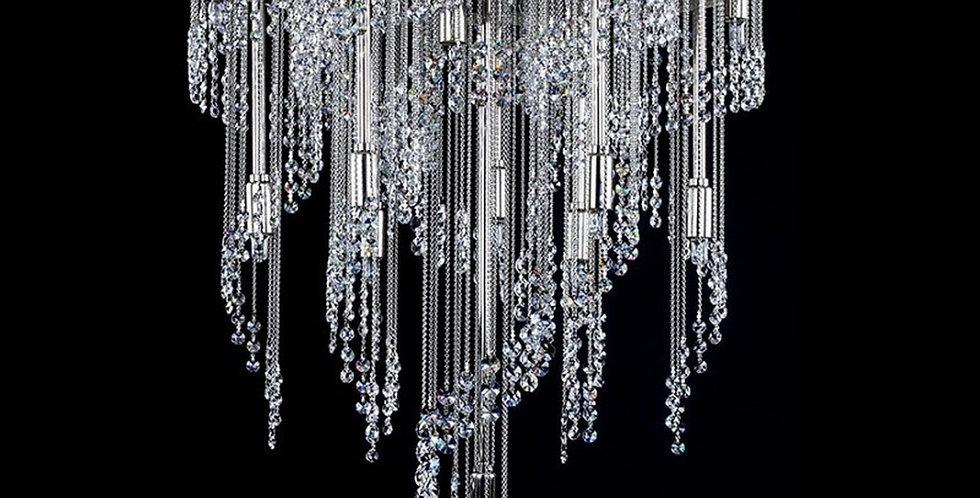 Erin, moderne krystall lysekrone