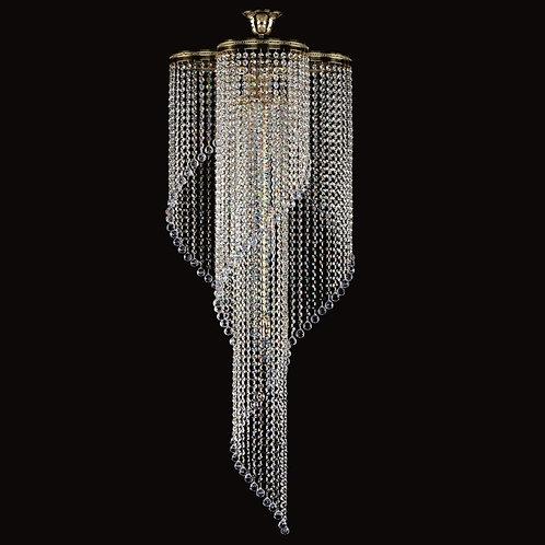 Poema, en stor moderne krystall lampe