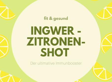 Der ultimative Immunbooster - Ingwer-Zitronen-Sirup