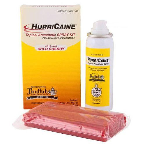 HurriHurriCaine Topical Anesthetic Pain Spray