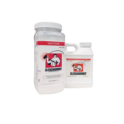 Sledgehammer Heat Cure Powder and Liquid