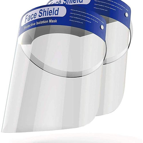 Face Shield w/sponge