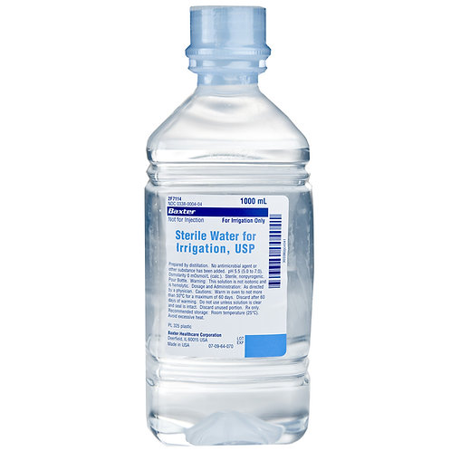 Sterile Water for Irrigation 1000ml