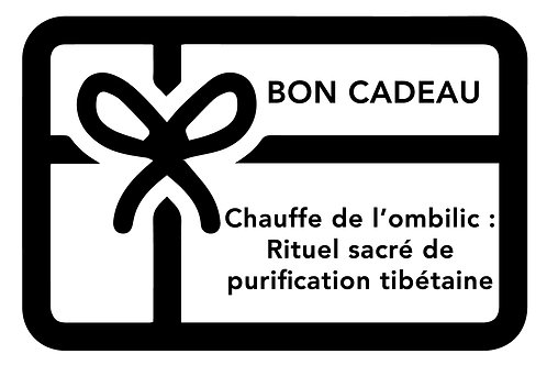 BON Chauffe de l'ombilic: rituel sacré de purification tibétaine