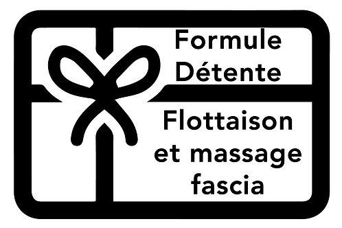 BON DÉTENTE | FLOTTAISON ET MASSAGE FASCIA