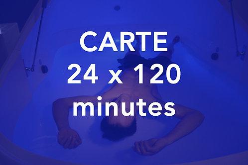 CARTE 24x120 minutes