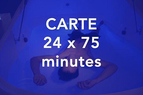 CARTE 24x75 minutes