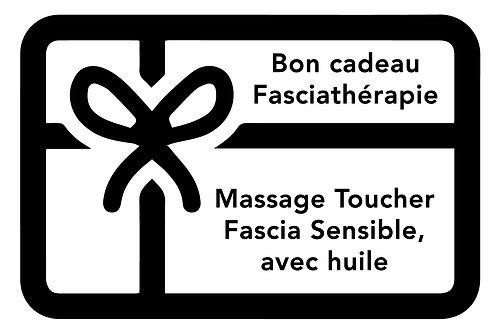 BON Massage toucher fascia sensible avec huile