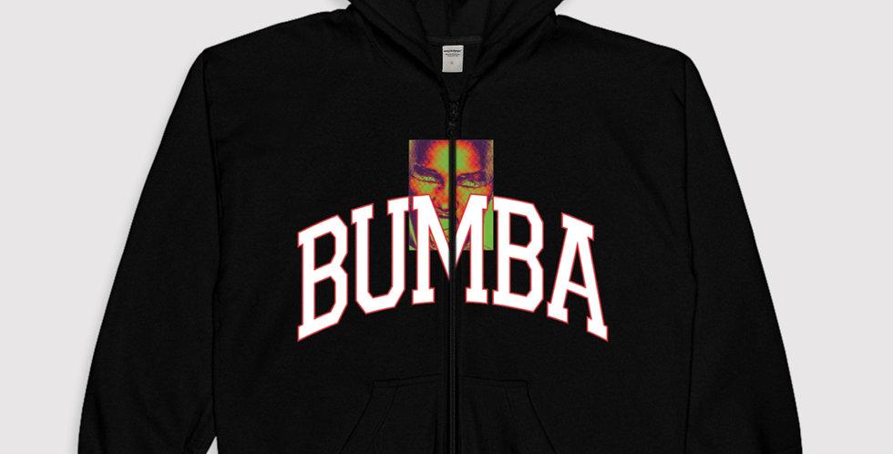 BUMBA zip-up hoodie