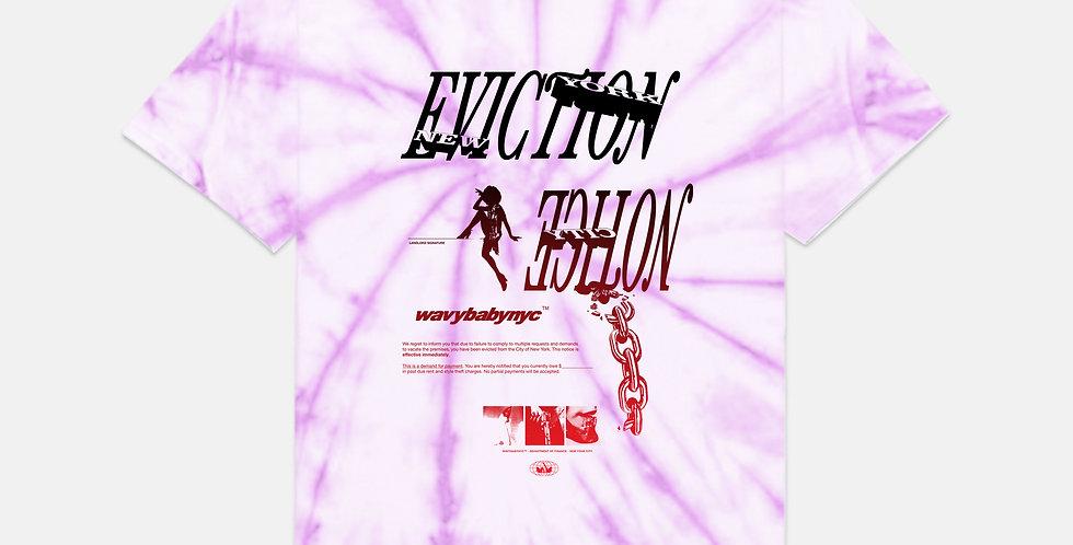 EVICTION NOTICE tie-dye tee
