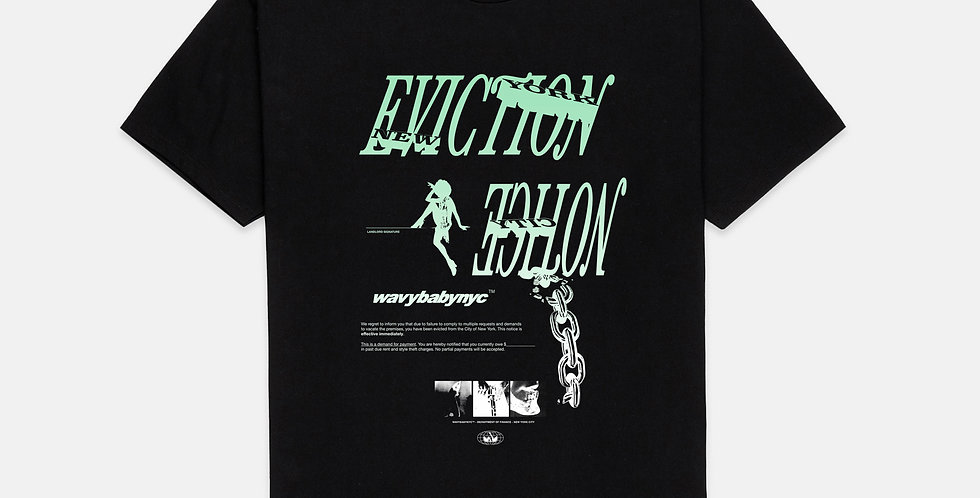 EVICTION NOTICE black tee