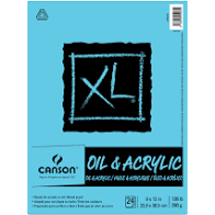 CANSON OIL & ACYRLIC PAD