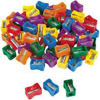 PENCIL SHARPENER (PLASTIC)