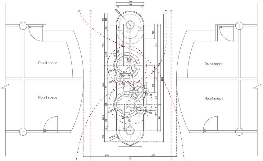 Interior design; Ice watch
