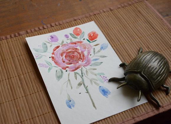 Aquarela - Flores