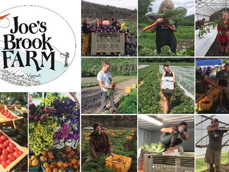 MEET THE VENDOR: Joe's Brook Farm