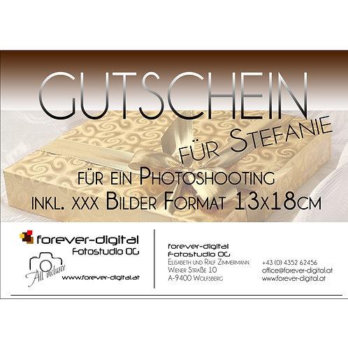 Geschenkgutschein für Fotoserien