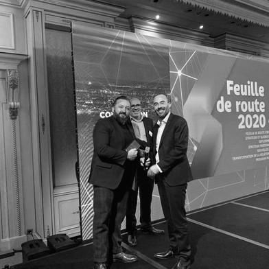 Thibaut Foulquier-Gazagnes reçoit un Award SFR